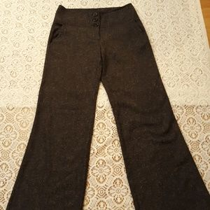 Forever 21 dark gray Flare Leg pant